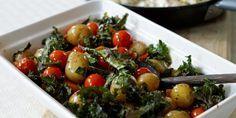 Grønnsaksform – Berit Nordstrand Sprouts, Potato Salad, Food Porn, Potatoes, Chicken, Vegetables, Ethnic Recipes, Potato, Vegetable Recipes