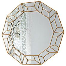 Buy Celeste Mirror, Gold, 114 x 104cm Online at johnlewis.com