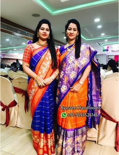 Pure silk sarees available in stock 🔥 for order with us 👇 WhatsApp no : 9553526146 Half Saree Lehenga, Sari, Ikkat Pattu Sarees, Pochampally Sarees, Best Blouse Designs, Saree Blouse Designs, Asian Wedding Dress, Designer Blouse Patterns, Saree Models