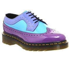 Dr. Martens 3989 Wing Tip Shoe ($78) ❤ liked on Polyvore