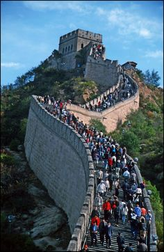 Great Wall of China - Gran Muralla - the World's largest military structure - UNESCO World Heritage - [By Stathis Chionidis]