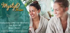 Have you got some free time this week and fancy treating yourself? Check out our #Women #Wednesday special offers to see what you could save on! Come and visit us!! #spa #get50%off #spainpune #spaoffer #massage #health #beauty #destress #bodymassage #week #weekoffer #refresh #Salon #relaxation #luxury Book Now http://www.mystyqspa.in.
