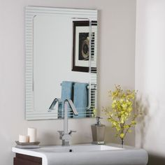 Decor Wonderland Frameless Deco Mirror Decor Wonderland https://www.amazon.com/dp/B00T992QVO/ref=cm_sw_r_pi_dp_x_B8PkybM2SA5P0
