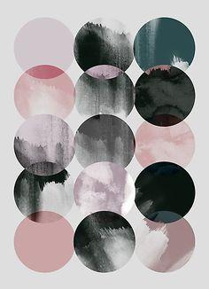 Abstract Art Print | Graphic Print | Circle Print | Minimalist Art Print | Abstract | Minimalism | Marboe