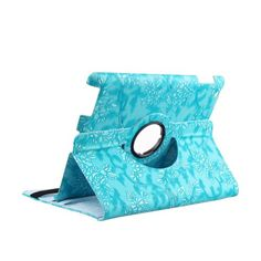 $11 TOPCHANCES Modern Smart Cover Case for iPad 2 3 4 with Auto Sleep/Wake Function and 360 Degree Rotating Stand- Blue Emblossed Flower TOPCHANCES http://www.amazon.com/dp/B00L9Z6XTM/ref=cm_sw_r_pi_dp_KESoub1HEEHKC
