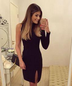 """{All black} Vestido @dressingupp ✨ Pretinho nada básico  {Disponível on-line: www.dressingup.com.br} • #ootn #blogtrendalert"""