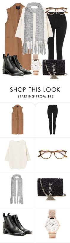 """Untitled #461"" by vanileeeeeeen ❤ liked on Polyvore featuring Alexander Wang, Topshop, MANGO, Paul & Joe, Yves Saint Laurent, Acne Studios and ROSEFIELD"