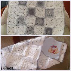 Háčkovaná zavinovačka pre bábätko. Autorka: anka53/Artmama.sk