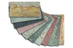 Laminate that looks like stone  Spa launches wafer-thin, flexible stone veneers