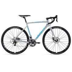 Giant 2015 TCX Advanced Pro 2 Carbon Cyclocross Bike Silver reduced to £1078.99 22 speed.