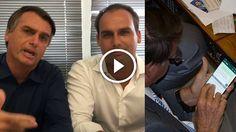 Por Dentro... em Rosa: Botando Pilha : Bolsonaro pai e filho