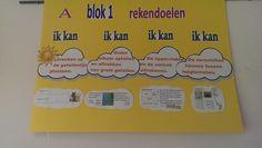 Maak de doelstelling bekend van de lessen! Hierdoor betrek je het kind optimaal en maak je hem deelgenoot van zijn eigen leerproces. Deze poster hing in een klaslokaal: geweldig! https://www.facebook.com/LisetteCastelein