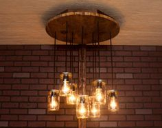 Mason jar chandelier with reclaimed wood and 6 pendants r 1818 cmj mason jar chandelier with reclaimed wood and 5 pendants r 1434 cmj 5 aloadofball Gallery