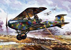 Hanover in action Luftwaffe, Fighter Aircraft, Fighter Jets, Ww1 Art, Kaiser Wilhelm, Airplane Art, Aircraft Pictures, World War One, Nose Art