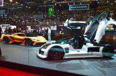 Apollo Automobil at the 2016 Geneva Motor Show