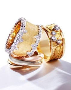 stackable jewelries | Uploaded to Pinterest