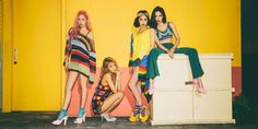 Wonder-Girls if they disband it will be a other older girl group that will end.