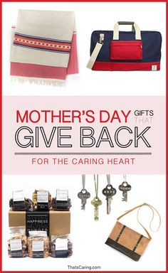 Mother's Day Gift Ideas Featuring Companies That Give Back @esperosbags @thegivingkeys @ssekodesigns @Fashionabl