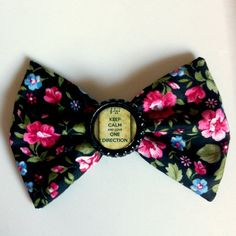 Love One Direction Hair Bow by AimeeeDanielle on Etsy, $5.00