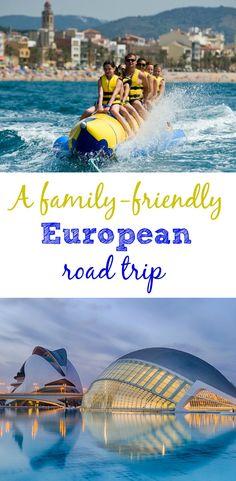 A family-friendly European road trip: ten years ago we took a European road trip. This is how we'd do it again with kids