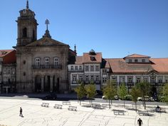 Largo do Toural-Guimarães-Portugal