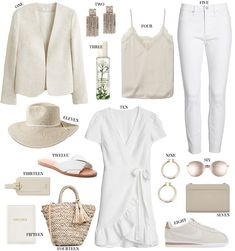 Spring Summer Fashion, Spring Outfits, Trendy Outfits, Cute Outfits, Fashion Outfits, Womens Fashion, Work Wardrobe, Summer Wardrobe, Capsule Wardrobe