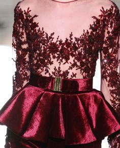 Zuhair Murad Fall 2012 Couture Runway Details