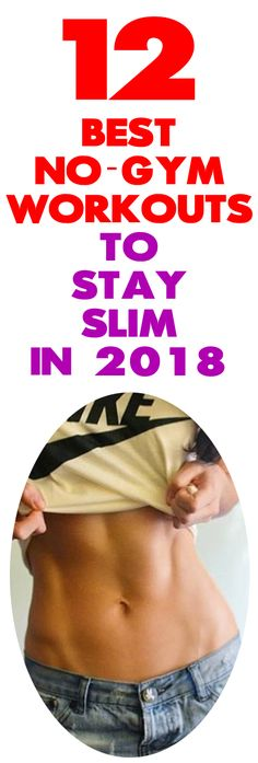 Looking for incredible no-gym tips to stay slim in 2018? As our careers get more demanding and our lives get busier going to a gym can be just a fantasy, right? However, that isn't an excuse for not working out at all! It's a lot easier than you think to work out when you're trying to decompress in front of the TV.