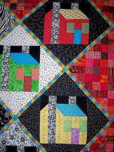 Freddy Moran House pattern by Marty Mason at Martys Fiber Musings