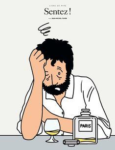 Jean-Michel Tixier : humour, ironie & ligne claire