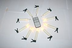 EuroFone LED Flameless Flickering Taper Ivory Candles with Remote and Removable ClipsBattery OperatedDrip Effectfor ChristmasChurchesSet of 10 *** This is an Amazon Affiliate link. Details can be found by clicking on the image. Flameless Candles, Ceiling Fan, Remote, Christmas Decorations, Ivory, Decor Ideas, Led, Amazon, Awesome