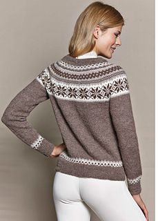 Ravelry: Nr 12 Nancy / # 8 Jolea pattern by Siv Molven Sliper Vintage Fashion, Vintage Style, Ravelry, Sweaters, Cardigans, Pullover, Pure Products, Knitting, Sleeves
