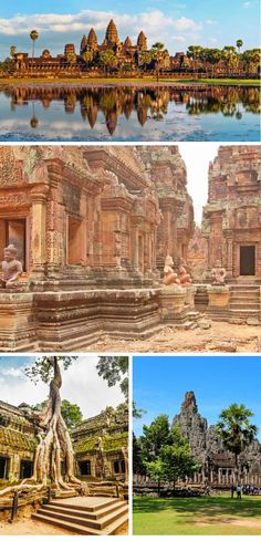I've compiled a list of places to visit and things to do while visiting Siem Reap Cambodia for three days. Siem Reap, Travel Bugs, Three Days, Cambodia, Monument Valley, Things To Do, Places To Visit, Nature, Things To Make