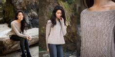 Пуловер с горловиной-лодочкой Sestina