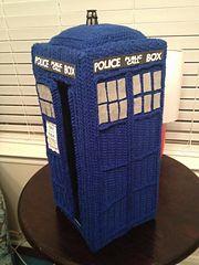 Ravelry: Doctor Who Tardis Amigurumi Pattern pattern by Allison Hoffman
