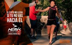 Corre hacia el éxito.  #SeAtleta #SeÚnico #SeNemik http://qoo.ly/f6fsm