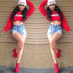Fashion Dope Fashion, Fashion Killa, Fashion Beauty, Dope Outfits, Fashion Outfits, Swag Style, My Style, Pretty Girl Swag, Beautiful Friend
