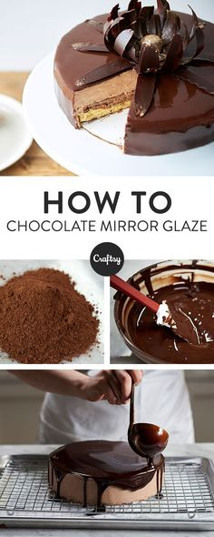 Who doesn't love chocolate cake? Learn how to make your own mirror glaze chocolate cake with this free recipe.