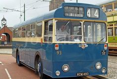 Birkenhead is the historic home of the first street tramway in Europe, visit the Tramway museum to see a variety of restored trams and buses. Blue Bus, Transport Museum, Bus Coach, Coaches, Buses, Trains, Transportation, Classic Cars, History