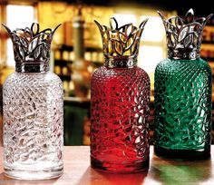 Lampe Berger Heritage Burners: Clear, Red and Green