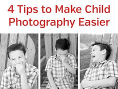 Four Tips to Make Child Photography Easier