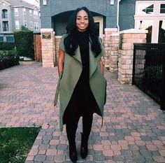 "bombshellssonly: "" @jalisavaughn "" BGKI - the #1 website to view fashionable & stylish black girls shopBGKI today"