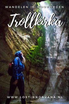 Wandelen door een beschermd natuurreservaat naar kalksteengrotten waar watervallen door het plafond komen? Dat kan alleen in Noorwegen. Ik neem je mee op avontuur!
