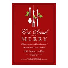 550 best christmas holiday party invitations images on pinterest eat drink be merry christmas holiday party invitation stopboris Image collections