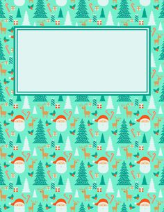 Free printable Christmas binder cover template. Download the cover in JPG or PDF format at http://bindercovers.net/download/christmas-binder-cover/
