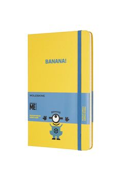 Moleskine - Limited Edition - Ruled Notebook - Minions - Large (13x21cm) -  Sunflower Yellow