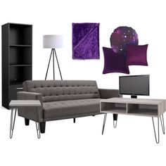 Living Room 2 by pumpkinhat on Polyvore featuring interior, interiors, interior design, home, home decor, interior decorating, Ameriwood, South Shore, Alphason and Altra