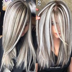 Red Hot Ombre - 60 Best Ombre Hair Color Ideas for Blond, Brown, Red and Black Hair - The Trending Hairstyle Ice Blonde Hair, Blonde Hair Looks, Platinum Blonde Hair, Hair Color And Cut, Ombre Hair Color, Cool Hair Color, Grey Blonde Hair Color, Hair Colors, Gray Hair Highlights