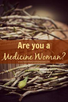 Men aren't the only healers!