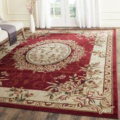 Safavieh Lyndhurst Traditional Oriental Red/ Ivory Rug (8' 11 x 12' RECTANGLE)